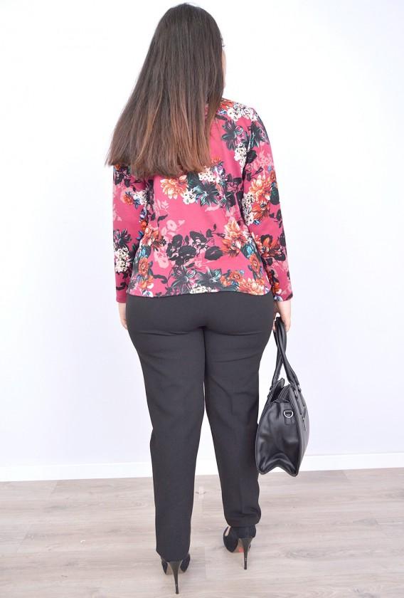 Pantalon cintura goma costado alto gramaje invierno