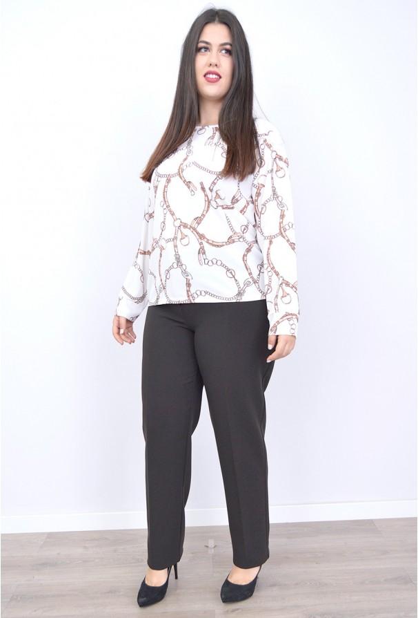 Pantalon vestir cintura , Alto gramaje invierno