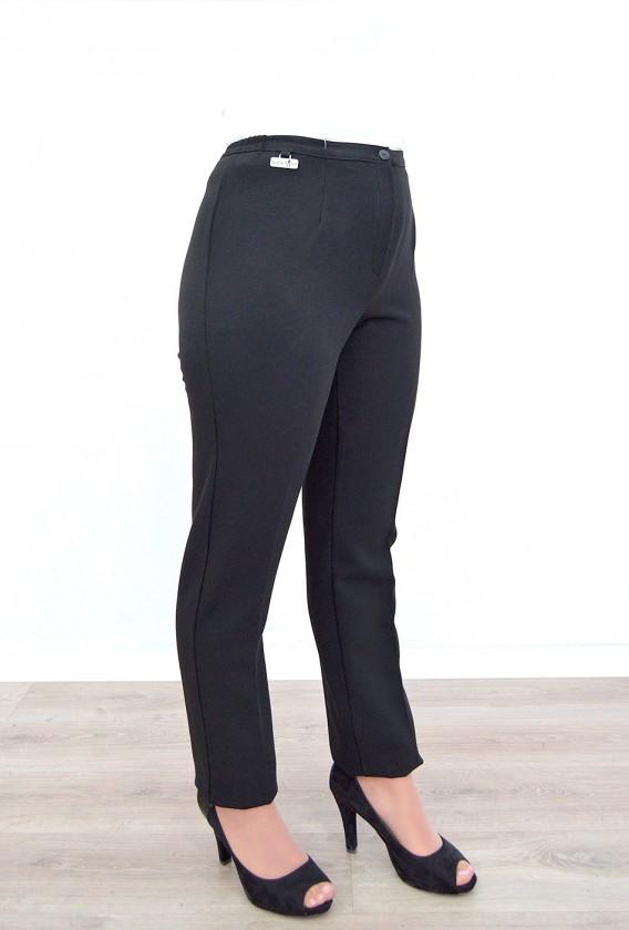 Pantalon cintura goma costado vestir bielastico invierno 42 a 60