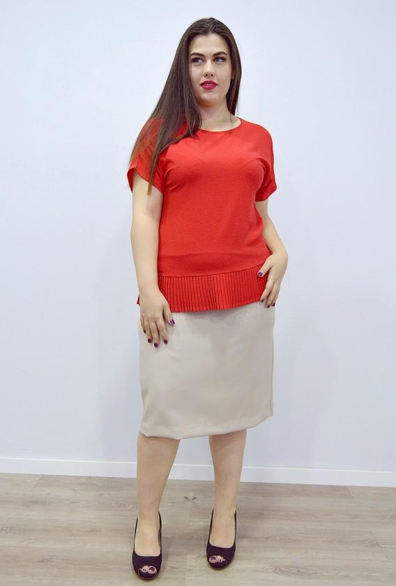 Falda Clásica Bolsillos