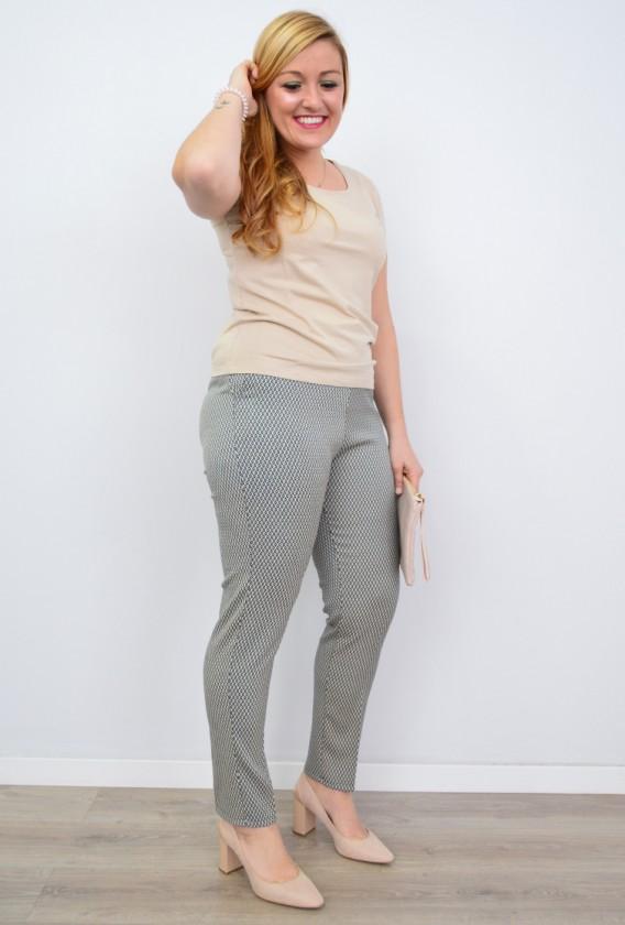 Pantalón Tapeta Delantera cuadritos