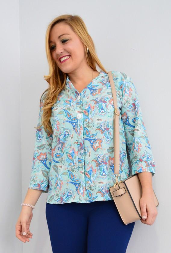 Blusa Estampada cashemir