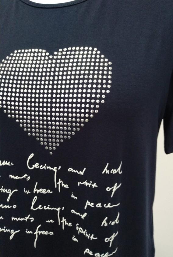 Camiseta Corazón Brilli