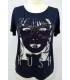 Camiseta Estampada Gafas svaroski