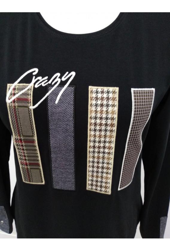 Camiseta Algodón Franjas