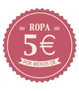 Ropa menos de 5 euros