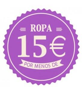 Ropa menos de 15 euros