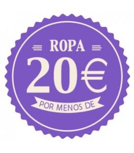 Ropa menos de 20 euros